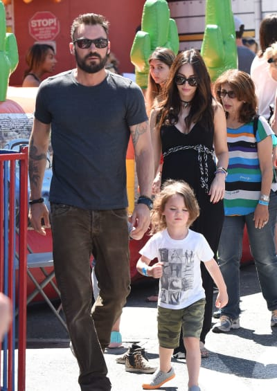 Fox N Sons Megan Fox and Brian Au...