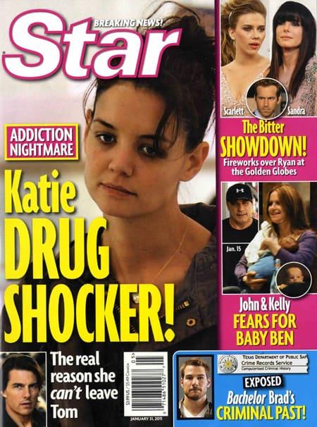 Katie Holmes Drug Shocker!