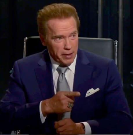 Arnold Schwarzenegger as The Boss