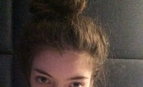 Lorde No Makeup