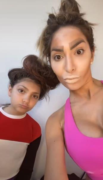 Farrah Abraham and Sophia Abraham Get Weird on Tik Tok