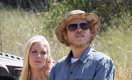 Spencer Pratt and Heidi Montag Look On