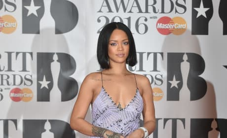 Rihanna: 2016 BRIT Awards