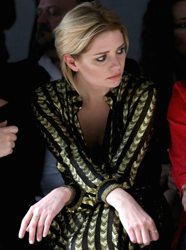 Mischa Barton at a Fashion Show