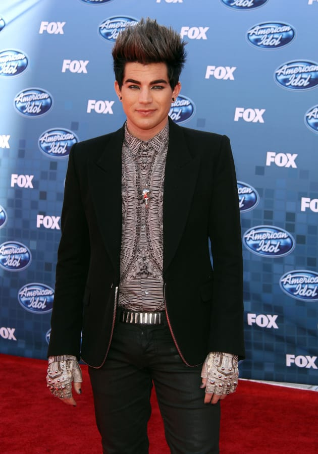 Adam Lambert at the Finale
