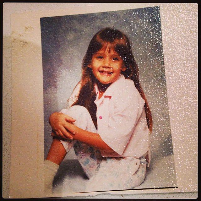 Jessica Alba Throwback Photo