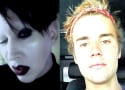 Justin Bieber SLAMMED by Marilyn Manson: That Little Arrogant Piece of ...