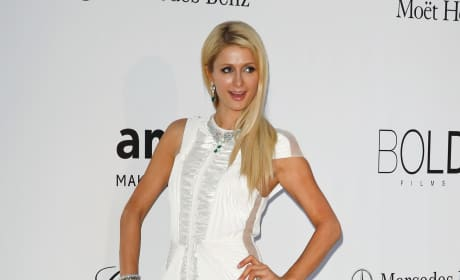 Paris Hilton in Cannes