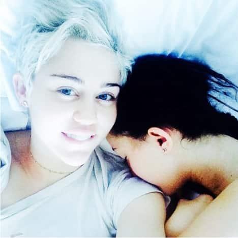 Miley Cyrus No Makeup Photo