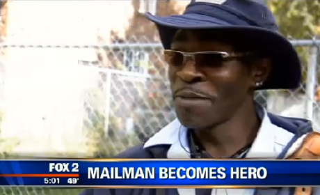Mailman Prevents House Fire, Continues on Route