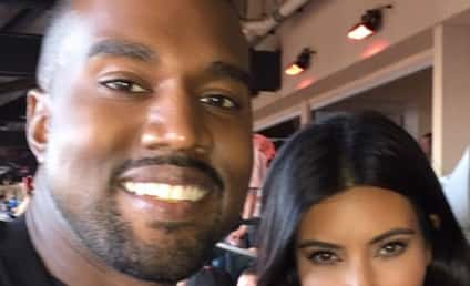 "Kim Kardashian and Kanye West Spent a Month Apart During ""Rough Patch"" in Their Marriage, Source Says"