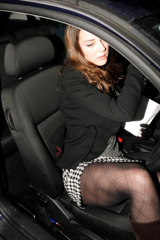 Kate Middleton Upskirt