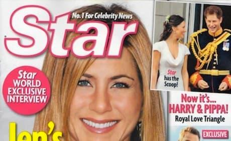 Jennifer Aniston and a Secret Man!