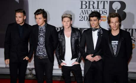 1D on the Red Carpet