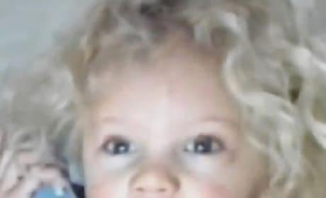 Taylor as a Toddler