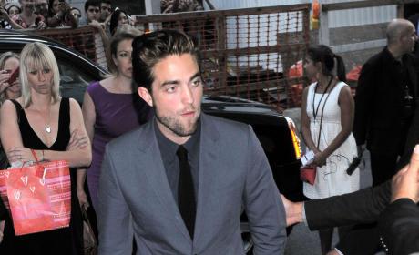 Robert Pattinson Strutting