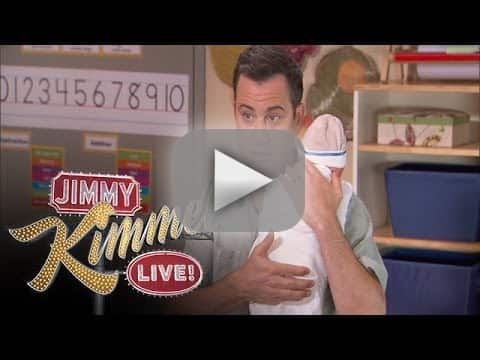 Jimmy Kimmel Receives Parenting Advice