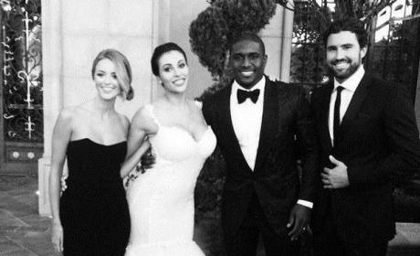Brody Jenner Attend Reggie Bush Wedding