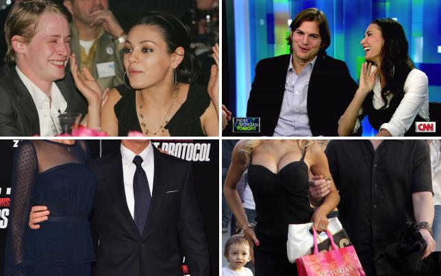 17 weirdest celebrity couples macaulay culkin and mila kunis