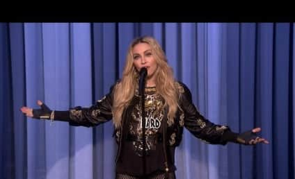 Madonna Goes Acoustic on The Tonight Show, Performs Stand-Up (For Real!)