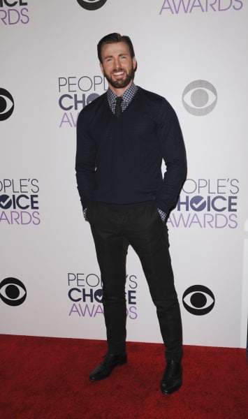 Chris Evans at the People's Choice Awards