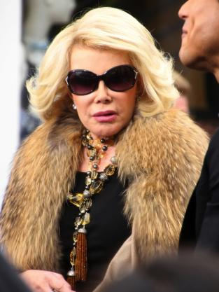 Joan Rivers in Fur
