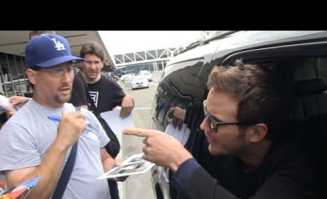 Chris Pratt Actually Flips Out