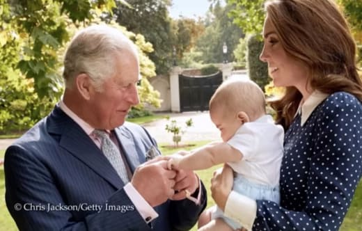 Prince Louis and Charles