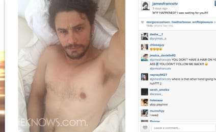 James Franco: Nude on Instagram (Again)!