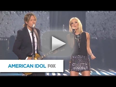 American idol finale the returns the performances the for Carrie underwood and keith urban duet
