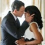 Olivia and Fitz on Scandal