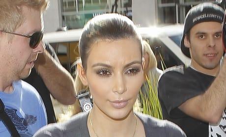 Kim Kardashian, Sheer Top