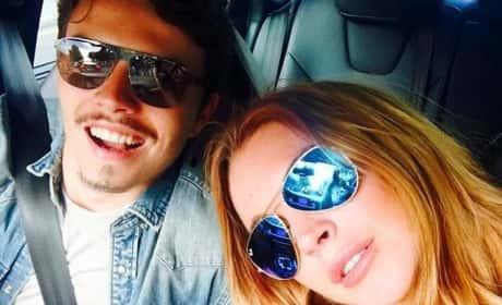 Lindsay Lohan, Egor Tarabasov Selfie