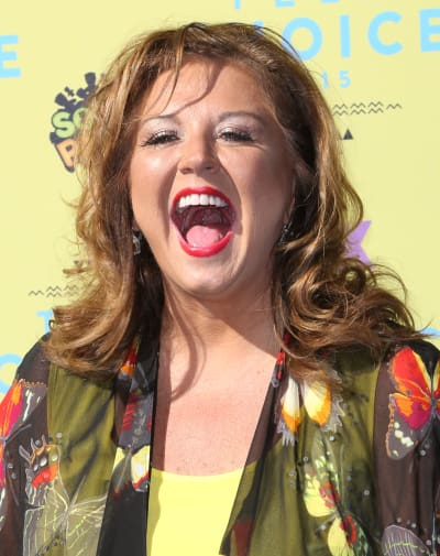 Abby Lee Miller is Happy