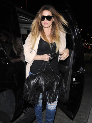 Khloe Kardashian Arrives at LAX