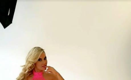 Coco Austin Poses In Pink