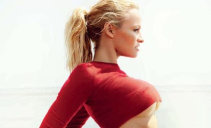 Pamela Anderson in Vogue Brazil: Really NSFW!