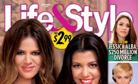 Khloe Kardashian and Kourtney Kardashian Wedding Cover