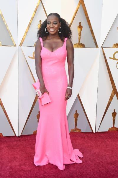 Viola Davis at 2018 Oscars