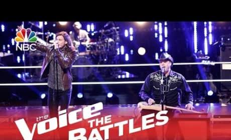 Blaine Mitchell vs. Blind Joe (The Voice Battle Round)