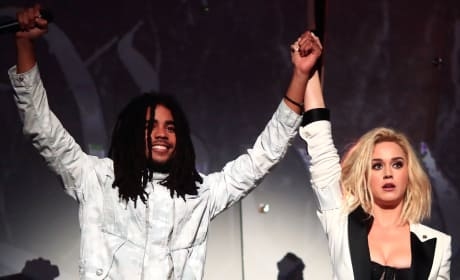 Skip Marley and Katy Perry