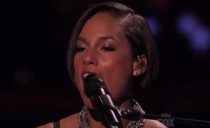 Alicia Keys Debuts New Single on American Idol