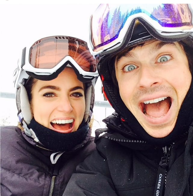 Ian Somerhalder Hits the Slopes