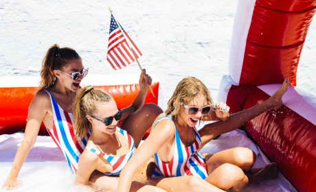 Taylor and Friends on July the 4th