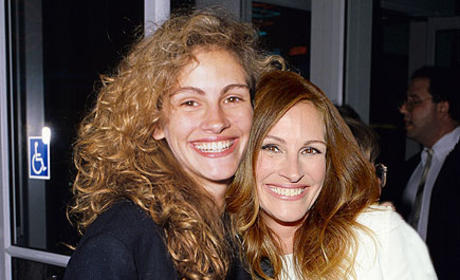 Julia Roberts in 2013 and 1989