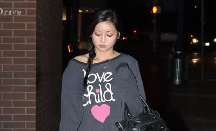 Brenda Song, Possibly Pregnant, Flaunts Love Child ... Sweatshirt