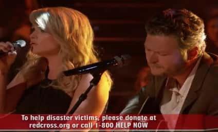 "Blake Shelton, Miranda Lambert Perform ""Over You"" For Oklahoma Tornado Victims on The Voice"