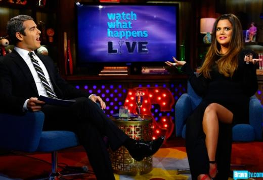 Khloe Kardashian on Watch What Happens Live