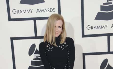 Nicole Kidman at the 2015 Grammys