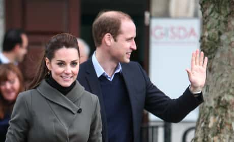 Kate Middleton and Prince William Visit Wales